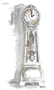 Grandfather Clock 25 per cent