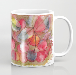 Cherries Be Happy Mug S6