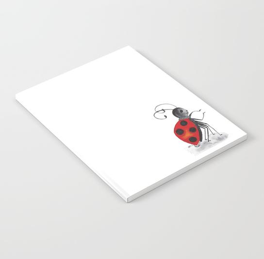 Ladybug Two Notebook