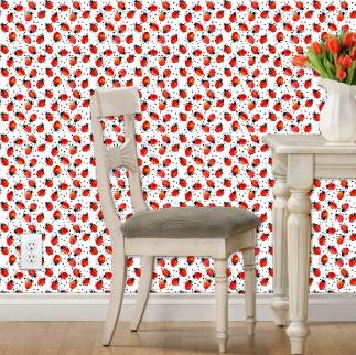 no spots ladybug wallpaper